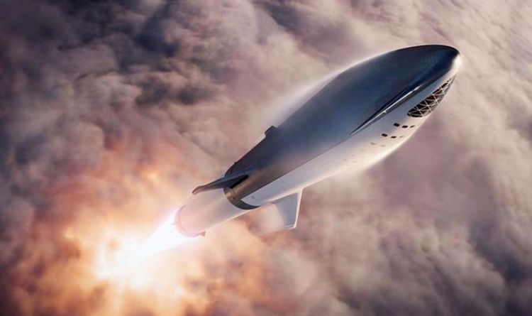 SpaceX to SLASH travel times: SpaceX will ROCKET from London to New York 'in 30 MINUTES'