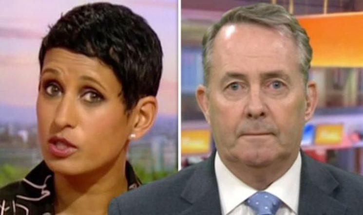 BBC News: 'What is the plan?!' Naga Munchetty takes Liam Fox to task over Brexit shambles