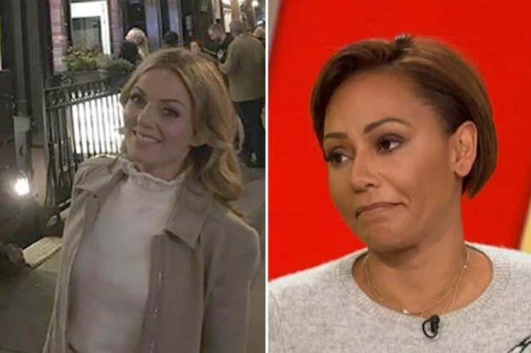 Geri Halliwell posts about 'girl power' amid epic Mel B bust-up