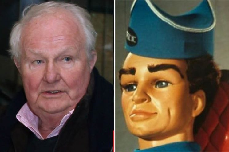 Thunderbirds star Shane Rimmer dies aged 89
