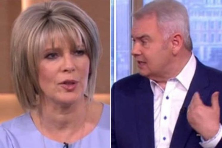 Awkward! This Morning's Eamonn and Ruth have blazing row live on air