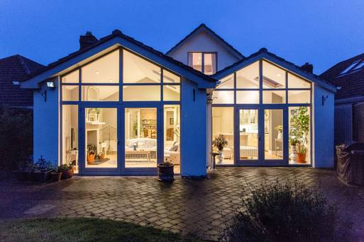 Why have one extension when you can have two? Tardis-like Dublin home built for future living