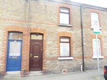 Mid-terrace home in trendy Stoneybatter going for €330,000