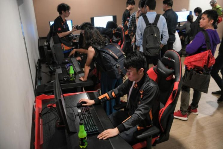 Singaporeans spent more time playing video games than South Koreans and Japanese