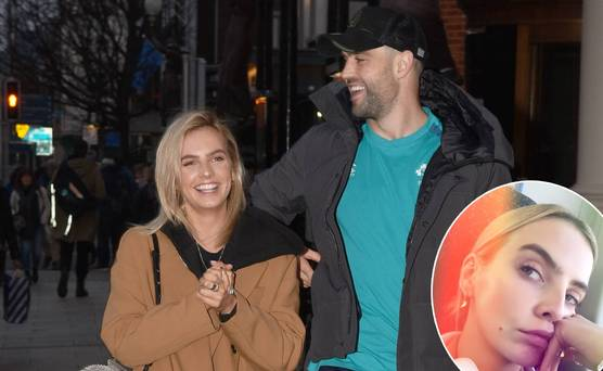 Back to reality for Joanna Cooper in London after cheering on boyfriend Conor Murray at the Aviva
