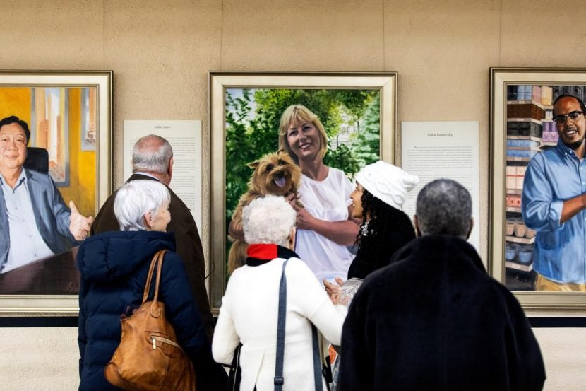 Immigrant portraits in New York art show face down Trump
