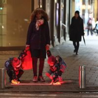 Tel Aviv tries out new crosswalk lights for cellular addicts