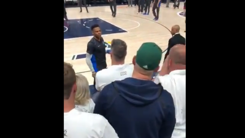 """Utah Jazz Permanently Ban Another Fan, Who Called Russell Westbrook """"Boy"""" In 2018 Playoffs"""