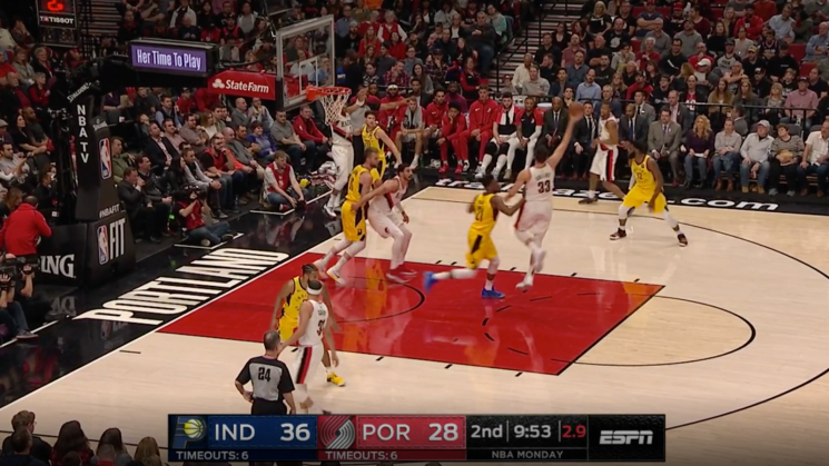 Here's A Cool Play The Trail Blazers Use To Ambush Unsuspecting Opponents