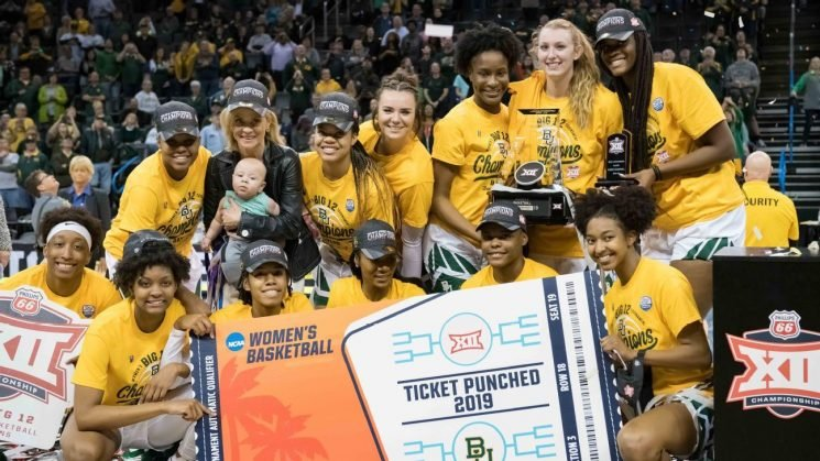 Lady Bears named No. 1 overall seed in tourney