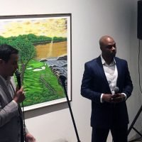 The Innocent Man Freed From Prison Because Of His Golf Artwork Is Making A Career Out Of It