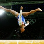 Simone Biles in London for Superstars of Gymnastics as the sport's biggest global star