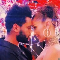 Bella Hadid Licks The Weeknd's Face in New PDA-Filled Pics