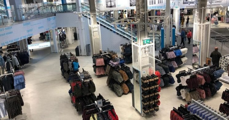 First look inside world's biggest Primark opening in the UK this week
