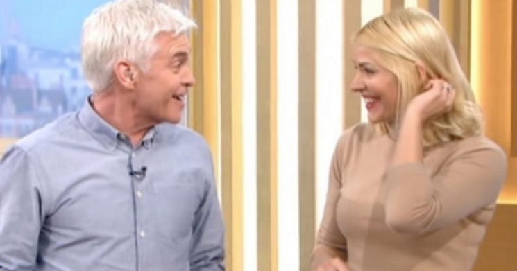 Holly Willoughby surprises Phillip Schofield with 'best birthday present ever'