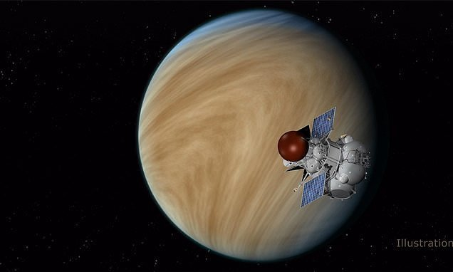 Venus may have had a climate suitable for life BILLIONS of years ago