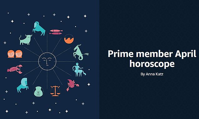 Amazon targets products to Prime users based on their zodiac sign
