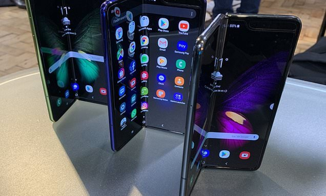 Samsung DELAYS the launch of its $2,000 folding phone until next month