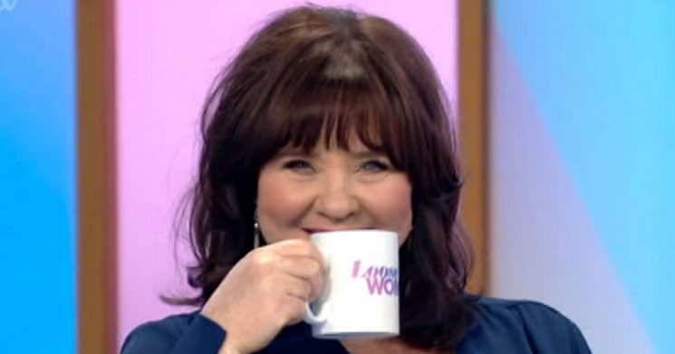Loose Women's Coleen Nolan flirts outrageously with Nick Knowles