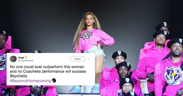 The Beyhive Is Positively Abuzz After Beyoncé Dropped Her Homecoming Film AND Live Album