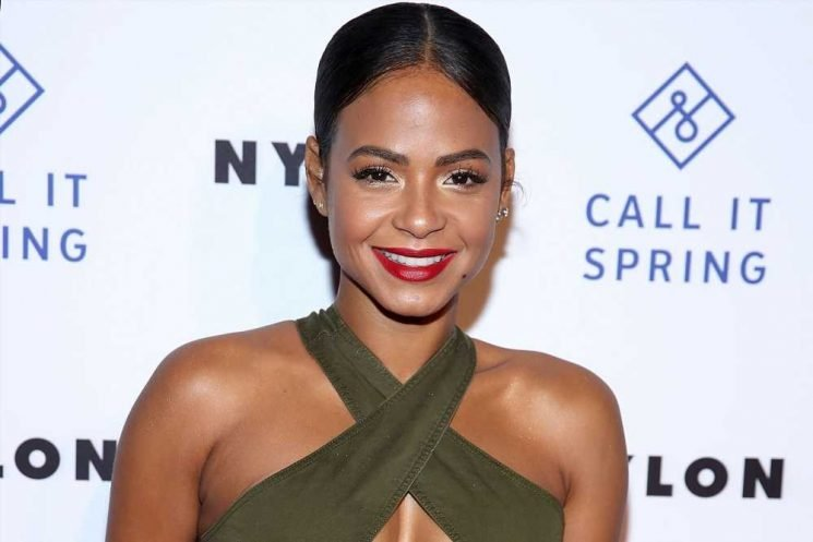 Christina Milian's snakeskin bikini is surprisingly affordable