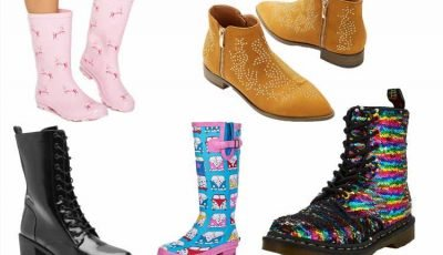 Best festival shoes and boots – including unicorn wellies and sequin Dr Martens boots