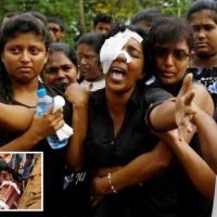 Sri Lanka bombing – Grieving families forced to watch grim bomb victim slideshow to ID dead