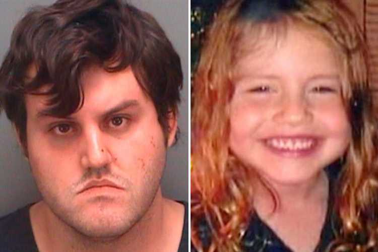 Twisted dad threw daughter, 5, off bridge to her death because he thought she was 'possessed'