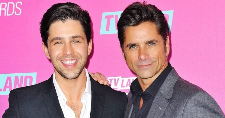 Making Us Swoon! Josh Peck and John Stamos Are 'Cool Dads' WithSons