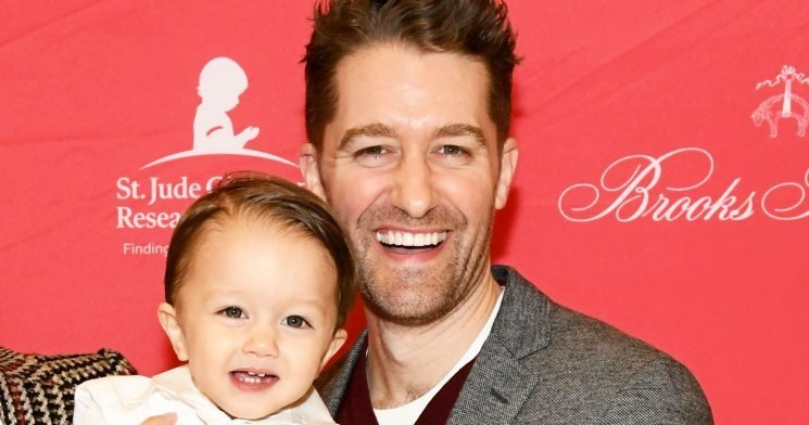 When Matthew Morrison Will Let His Son Watch Him in His 'Prime' on 'Glee'