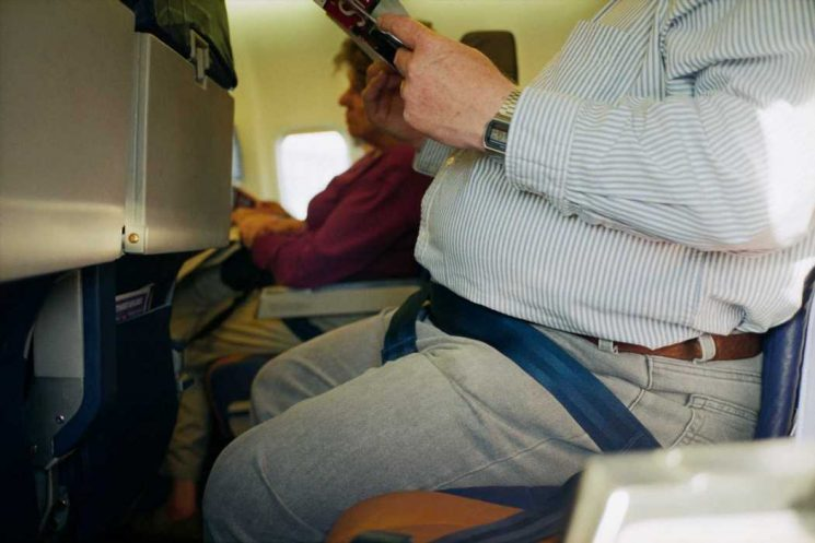 Passengers could soon be WEIGHED before flights on 'pressure pads' at check-in desks so airlines can cut fuel costs