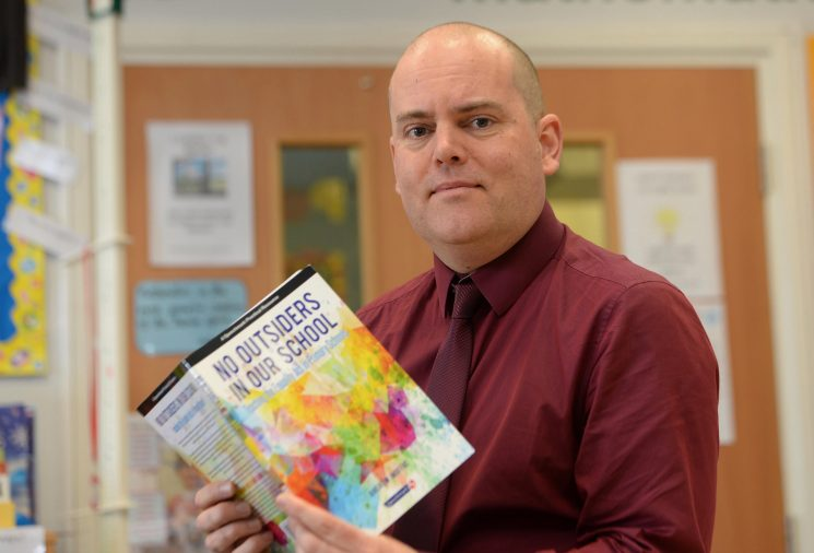 Gay assistant headteacher who created LGBT lessons for primary school kids in Birmingham gets death threat