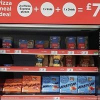 Asda has an amazing £7 pizza meal deal and you save almost £5