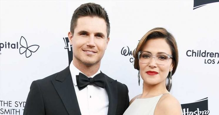 Pregnant! Robbie Amell and Italia Ricci Expecting First Baby Together