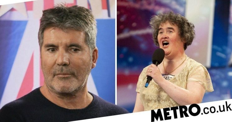 Simon Cowell reveals how he consoled Susan Boyle after BGT defeat to Diversity