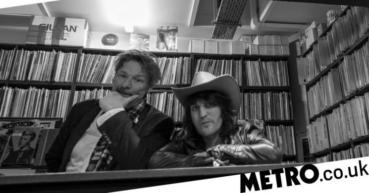 The Mighty Boosh's Noel Fielding and Julian Barratt reunite after five years