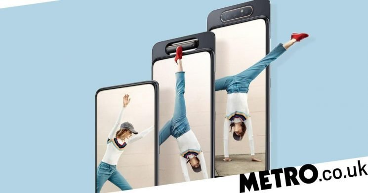 Latest Samsung phone has a flip-out camera for selfies