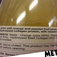 M&S criticised after customer spots beef collagen in Super Water juice