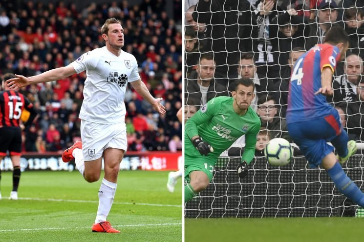 Premier League highlights as Burnley take huge stride from drop zone while Palace and Leicester win