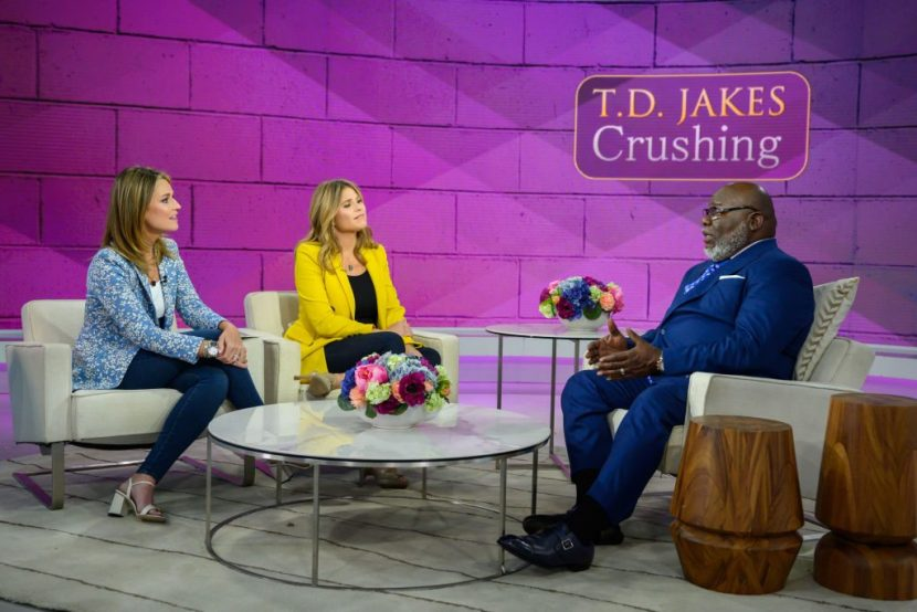 T.D. Jakes Book 'Crushing': What to Do When Your World Falls Apart