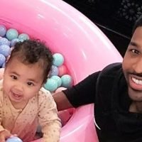 'True-ly Perfect!' Tristan Thompson Celebrates Daughter True's 1st Birthday