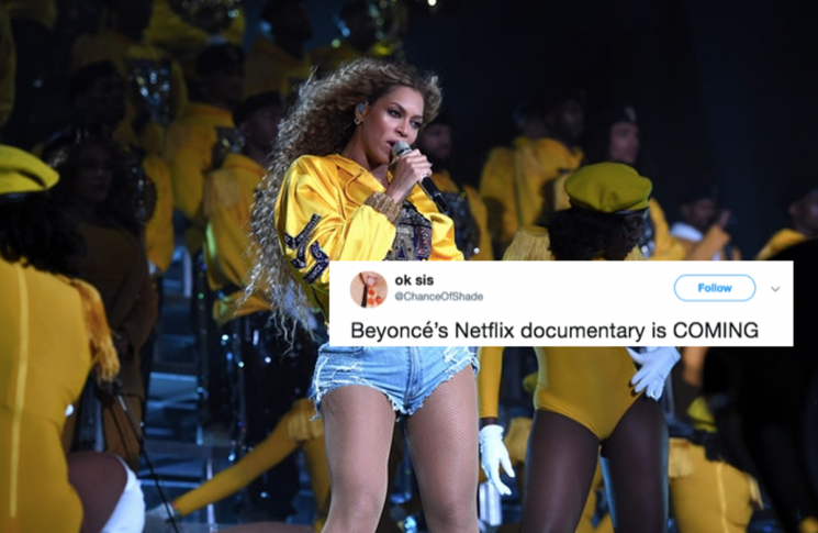 These Tweets about Netflix's 'Homecoming' Beyonce Documentary Are So, So Hype