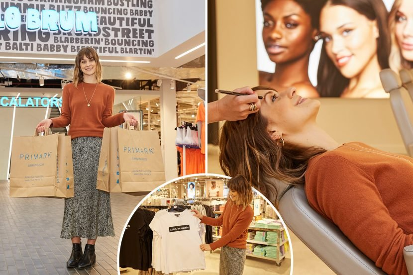 Inside the world's biggest Primark complete with five floors, 1,000 staff members and 160,000 square feet of clothes and goods