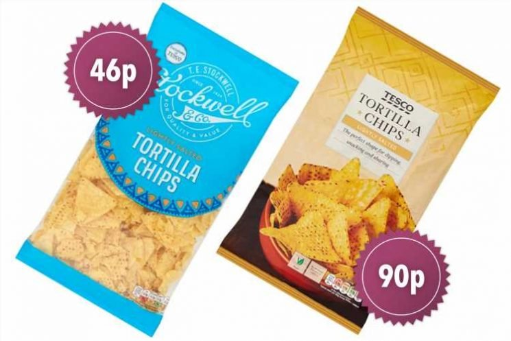 How supermarkets flog EXACTLY the 'same' food for twice the price – and the only difference is the packaging