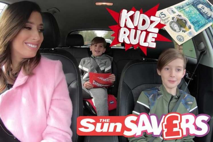 Stacey Solomon's tips on car journeys with kids as she takes her sons to LEGOLAND — plus win two FREE tickets to LEGOLAND Windsor Resort worth up to £120