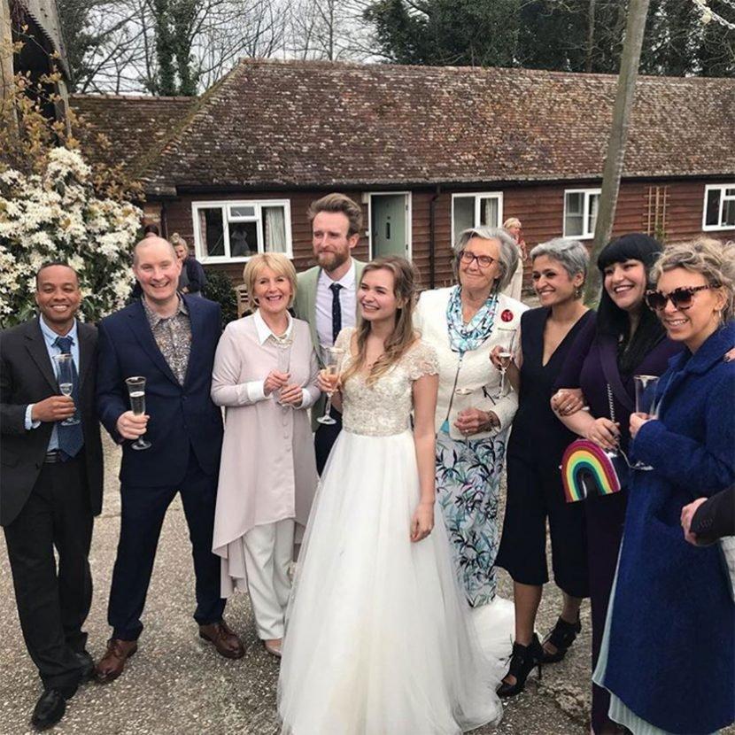 Great British Bake Off Contestants Reunite to Bake Cakes for Martha Collison's Wedding