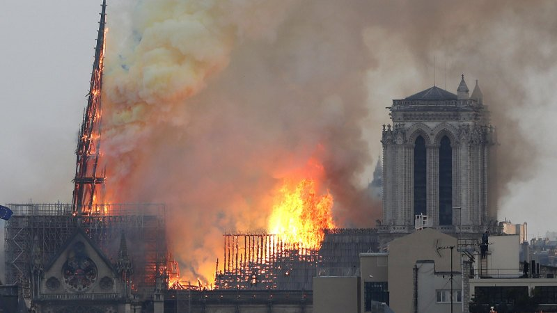 YouTube fact-checking tool confuses flaming Notre Dame for 9/11 attack