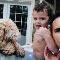 Carlos PenaVega Shares Glimpse of 'Dad Life': 'When Your Kid' Decides He's 'Done Walking'