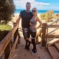 Pregnant Christina Anstead Shows off Her Baby Bump at 17 Weeks Along During Workout with Husband Ant