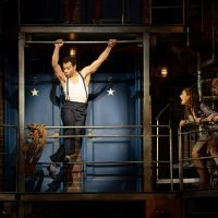 Corbin Bleu is dancing on the ceiling for 'Kiss Me, Kate'